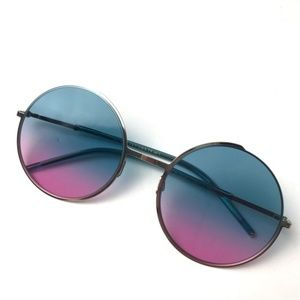 Marc Jacobs Ombré BOHO Circle Sunglasses